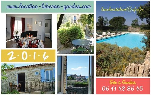 "Gite ""Lou Bastidon"" à Gordes (Provence - Luberon)"